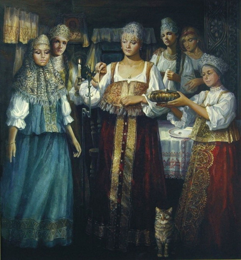 А.Емельянов Святки