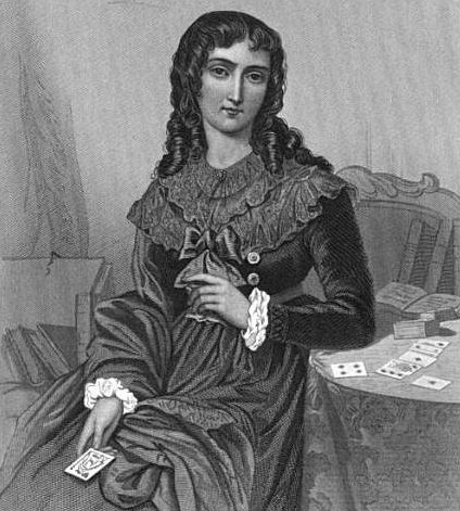 Portrait of Mlle Lenormand from The Court of Napoleon