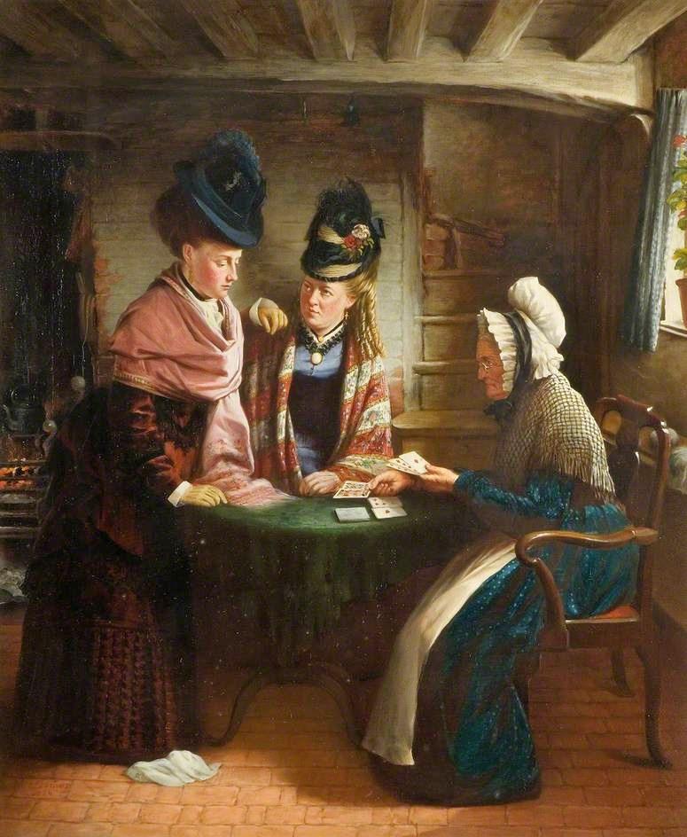 John Lane Lomas  The Fortune Teller