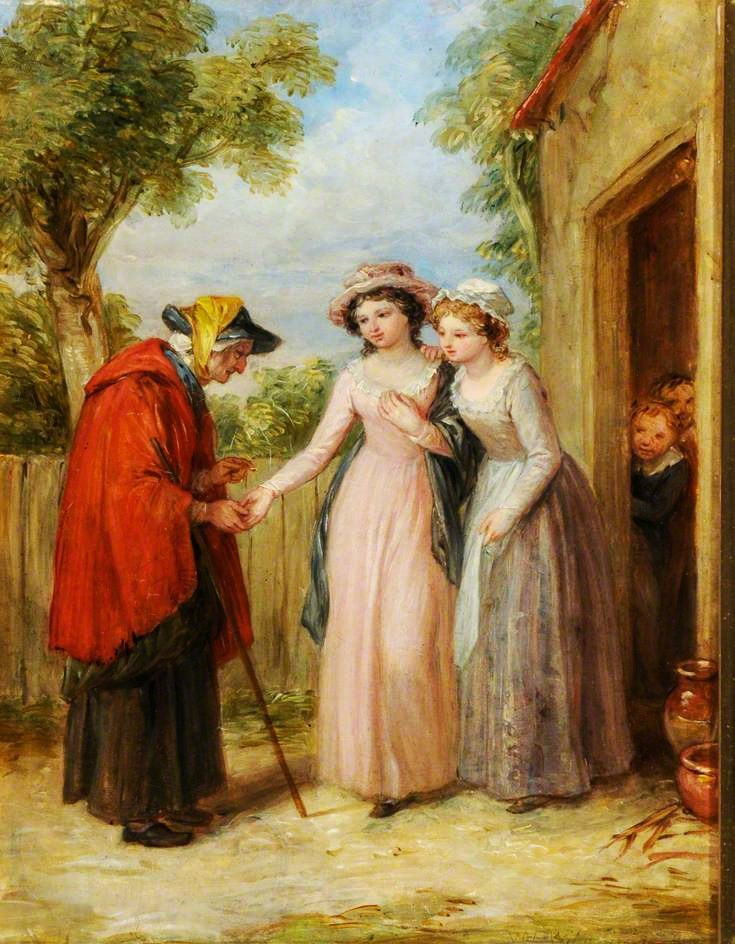 William Frederick Witheringtn The Fortune Teller