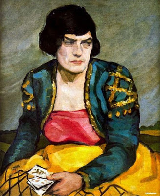 1950 Tamara de Lempicka (1898-1980)  The Fortune Teller
