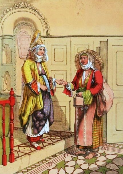 Henry John van Lennep (American artist, 1815–1889) Gypsy Fortune Teller