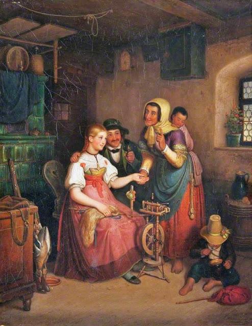 Fortune Teller Unknown British artist