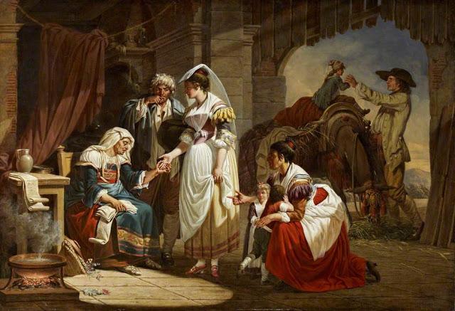Jacques Sablet (Swiss artist, 1749–1803) The Fortune Teller 1784-85