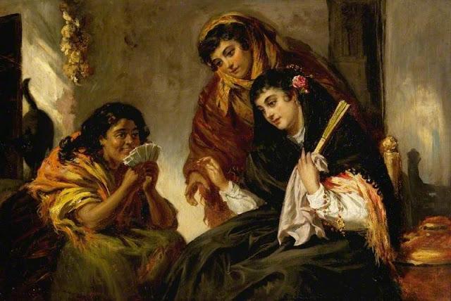 John Phillip (British artist, 1817–1867) The Fortune Teller