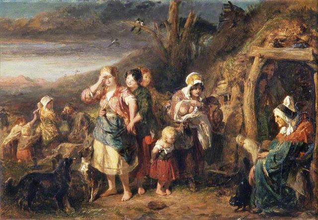 John Phillip (British artist, 1817–1867) Fortune Teller 1851