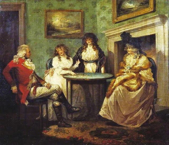 George Morland (British artist, 1763-1804) Fortune Teller