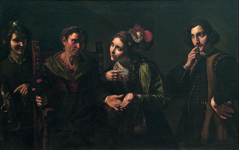 Pietro Paolini  The Fortune Teller