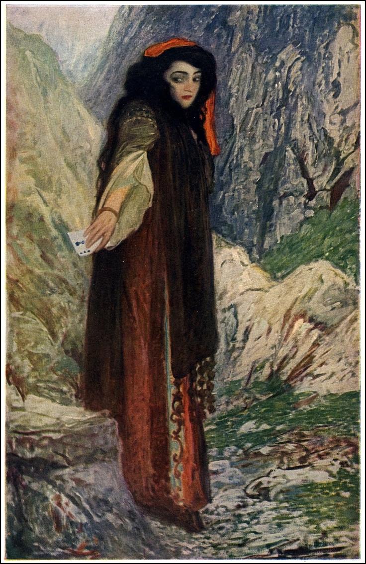 Divination The Fortune Teller, by Sigismund Ivanowsi.