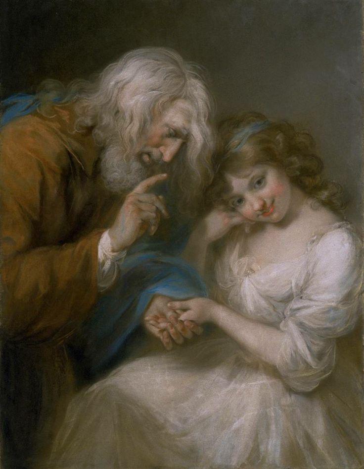 John Russell (1744‑1807) The Fortune-Teller