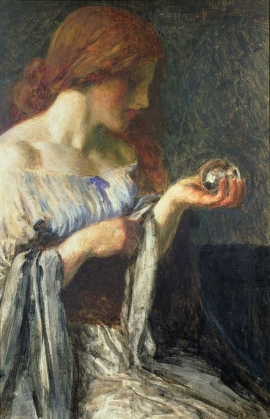 The Crystal Ball by Robert Anning Bell
