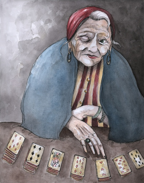 The Fortune Teller by Caitlin Louise.
