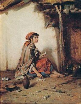 The Fortune Teller By Hermann Armin Kern
