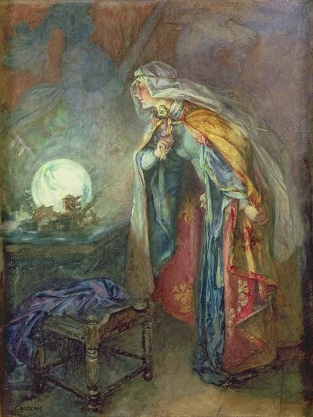 Joseph Finnemore, The crystal ball