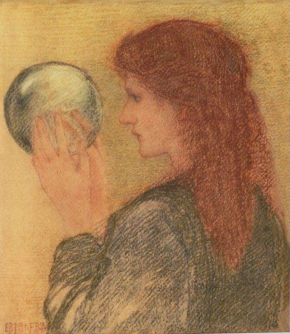 Edward Burne-Jones (1833-1898) - Astrologia, 1863