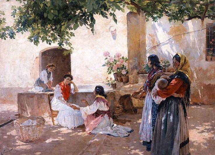 Enrique Simonet - La buenaventura - 1899 - The Fortune Teller