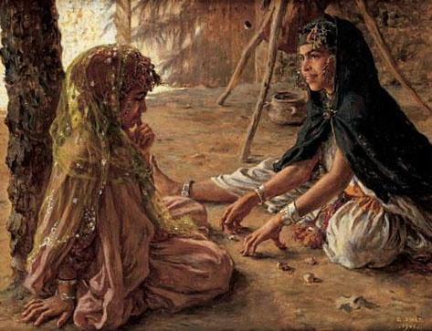 Le Jeu de Krouta, par Étienne Dinet, 1901