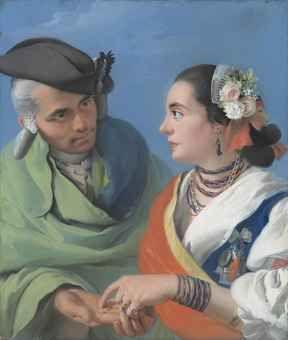 Lorenzo Baldissera Tiepolo, Tipos madrileños The Fortune Teller (La Buenaventura)