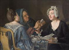 Pehr Hilleström, Three Women Telling Fortune in Coffee, 1780s