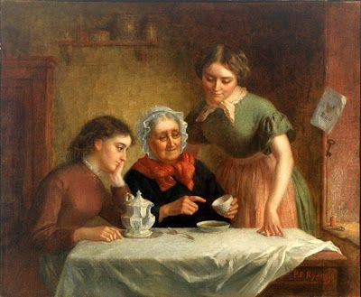 Platt Powell Ryder (American artist, 1821-1896) The Tale of the Cup
