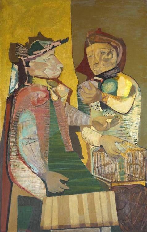 Robert Colquhoun  The Fortune Teller (1946) via Tate