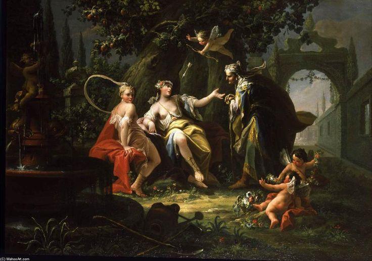 The Fortune Teller, Oil On Canvas by Giovanni Battista Crosato (1685-1758, Italy)
