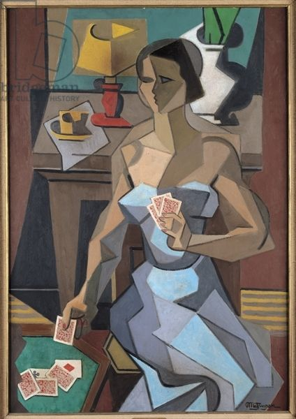 The Fortune-Teller, 1915 (oil on canvas) by Jean Metzinger (French, 1883-1956)