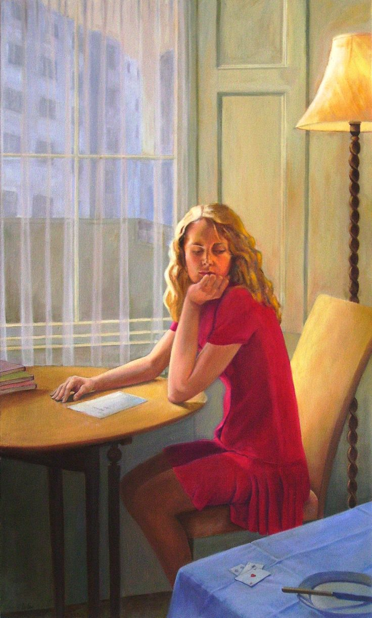 Jane Eccles - Girl by a Window