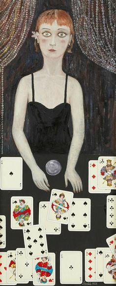 Oskar Ragnar Linden (1919-1993)  Sybilla, 1967