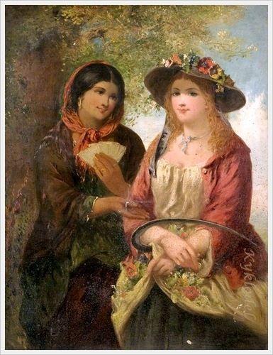 John Phillip (Scottish, 1817–1867) «The Fortune Teller»