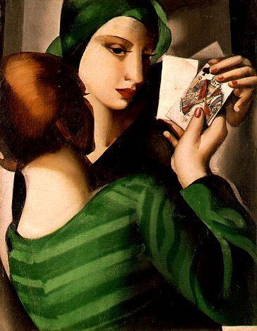 Tamara de Lempicka  Card Players