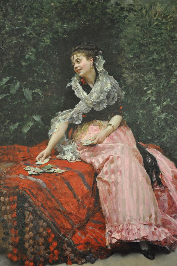 Raimundo de Madrazo y Garreta - Mujer en el jardin