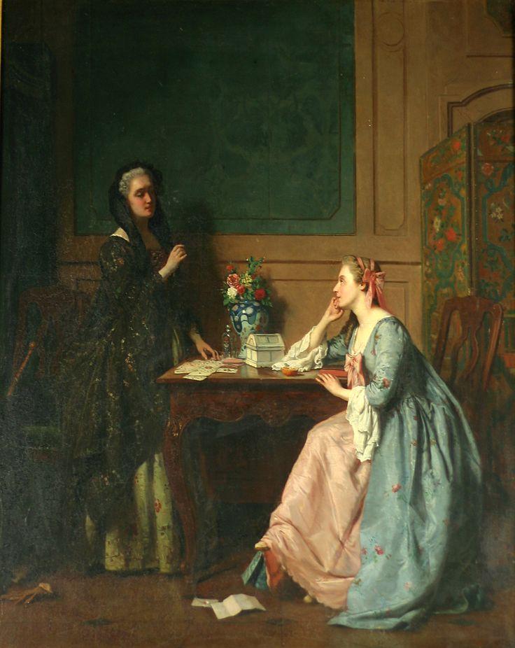 "Jean Carolus, ""The Fortune - Teller"