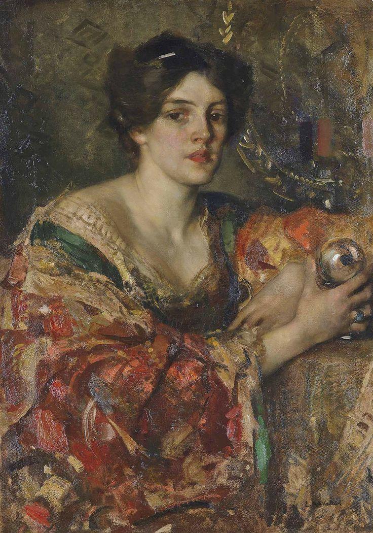 Cantata per un Sogno Edward Arthur Walton (1860 - 1922) - The fortune teller, Miss Jane Aitken