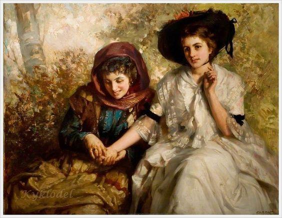 James Clerk British Painter