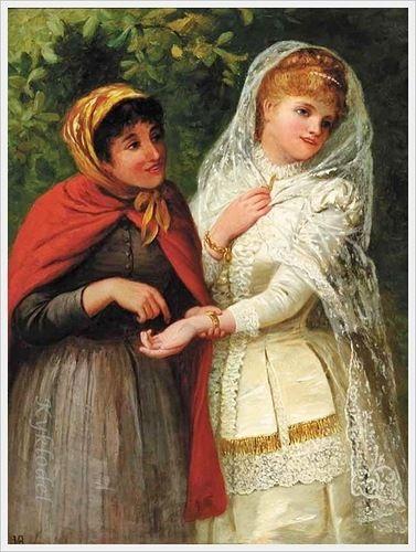 Jane Maria Bowkett (British, 1837-1891) «The Bride