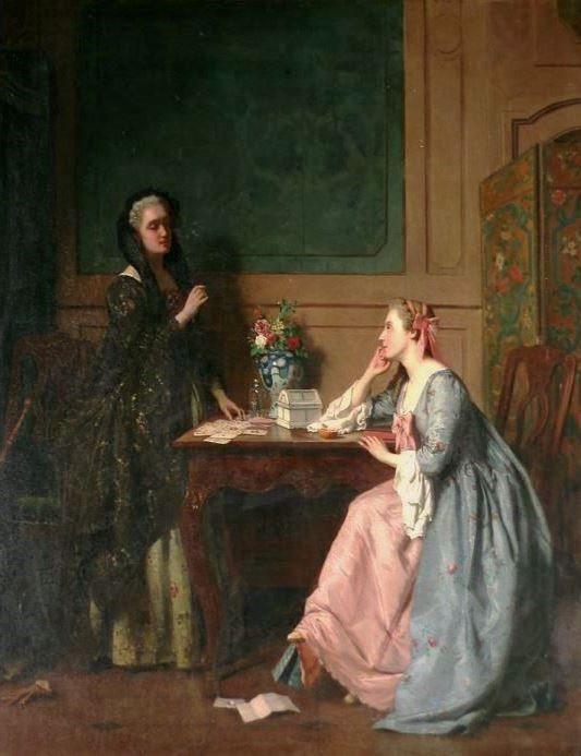Carolus, Jean (b,1814)- Fortune-Teller