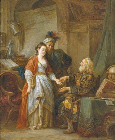 Jean Baptiste Leprince (1734-1781), The Fortune Teller