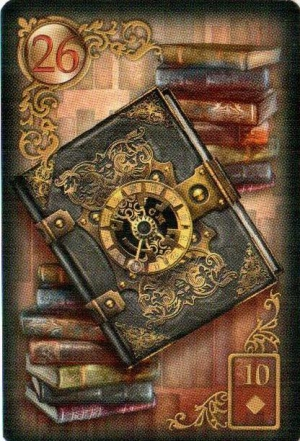 Письмо, Всадник и Книга