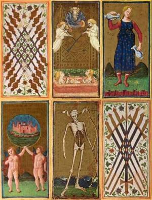 Об истории карт Таро: Средневековье, Эпоха Возрождения