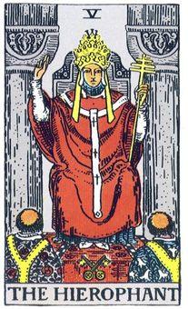 Символика Таро: Епископский посох